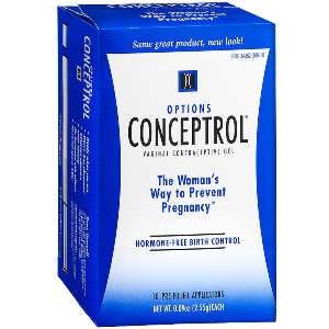 Options Conceptrol Spermicidal Lubricant
